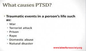 Post-Traumatic Accent Ataxia or, Post-Traumatic Stress Disorder(PTSD)- Responsible For Causes And Risk Factors , Collected Unique Picture No- 00018.....
